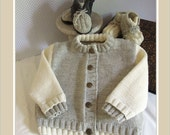 Baby sweater and boots - P032