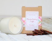 Raspberry Truffle Soy Candle // Gift Candle // Candy
