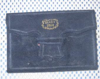 1864 Civil War Pocket Diary