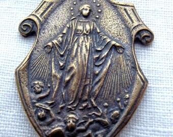 Bronze Our Lady's Assumption Medal