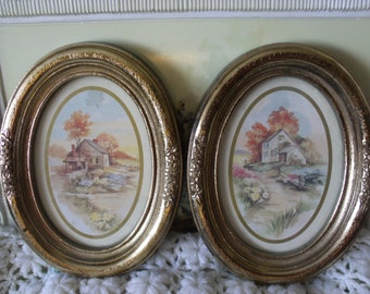 Small Pictures, Wall Decor, Vintage home decor, Country Pictures Beautiful Homes in the Country, Country Decor,  /S :)