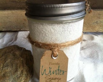 Destin Florida Soy Candle Seasons in the Sand December Gift Holidays Christmas Memories