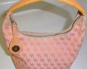 Dooney and Bourke Bucket Orange HO29 Bag