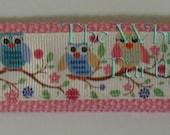 Owls Wristlet Key Fob