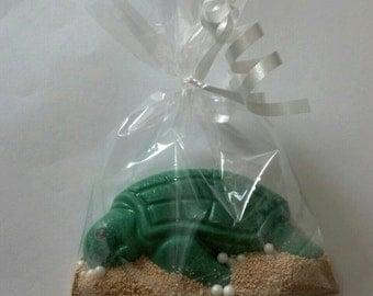 Chocolate Sea Turtle Party Favor Bag