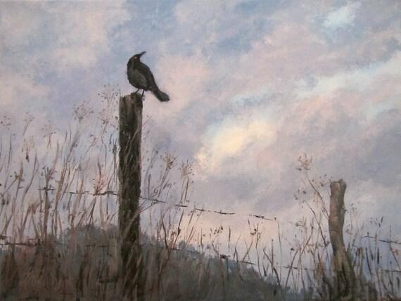 """original painting, """"Storm Watch"""""""