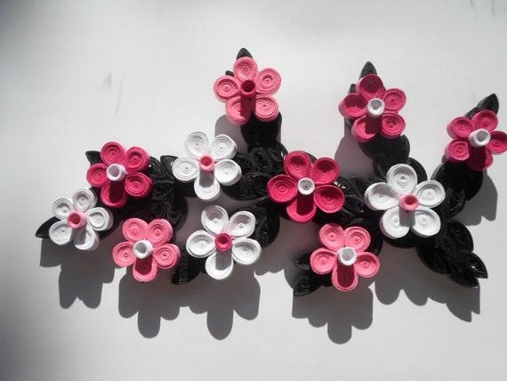 3d wall decor flowers