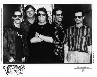 George Thorogood & The Destroyers Publicity Photo   8 by 10 Inches