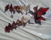 Small Feather Butterfly Hair Clip