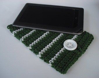 iPad Mini - Nook tablet - Kindle Fire tablet - handmade crochet cover