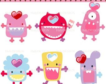 cute monster love
