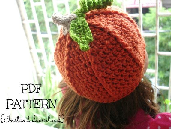 Crochet Pattern Pumpkin Hat Toddler Legitefo For