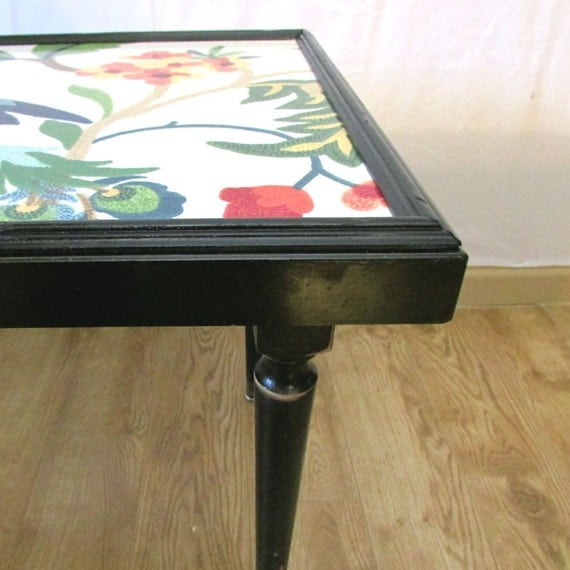 Items Similar To Peacock Side Table, End Table Or Small