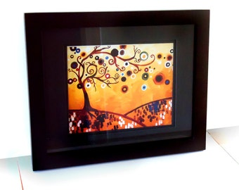 Rustic Tree ART PRINT   Southwestern Home Decor by Natasha Wescoat 8x10 12x16 13x19 16x20