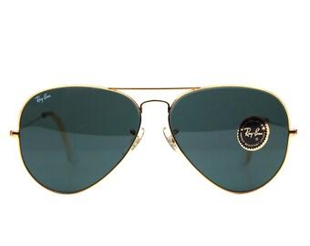 Vintage Ray Ban B&L Aviators Sunglasses 58 mm