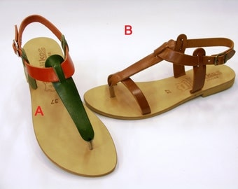 Anytime Leather Sandals