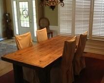 Reserved Listing Farm House Table Farm Style Table