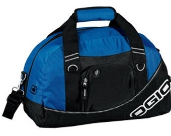 OGIO Half Dome Duffel Monogrammed/Personalized great Corporate gift or Wedding Party Gift