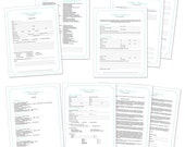 Wedding Photography Forms: Contract and Essential Forms