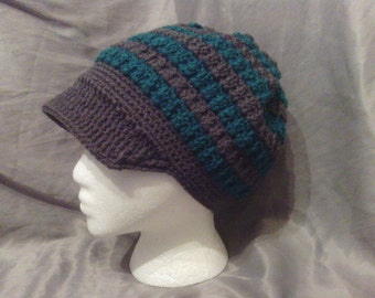 Adult Slouchy Hat with Brim