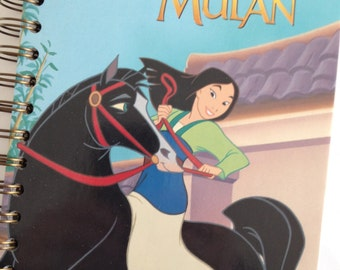 Mulan Little Golden Book Recycled Journal Notebook