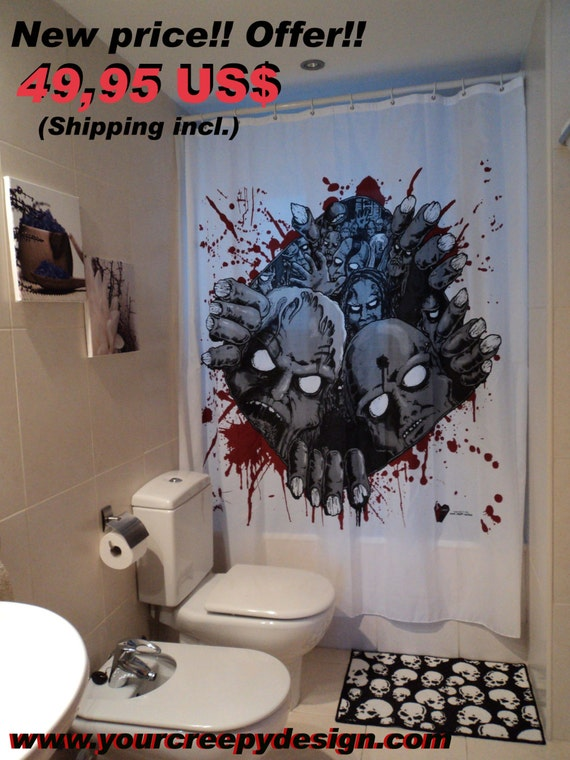 zombie bathroom set, zombie bathroom set