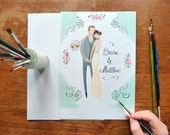 The Special Relationship - Custom wedding Portrait - JollyEdition