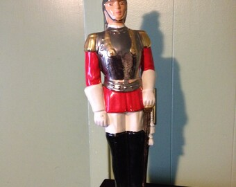 Solider in Red Statue