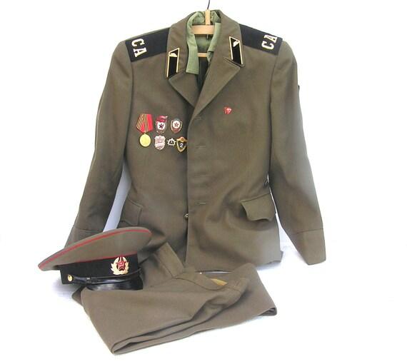 Army Green Jacket Mens