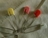 Vintage Diaper pins, Pretty colors, Diapers, Crafting or Decorating