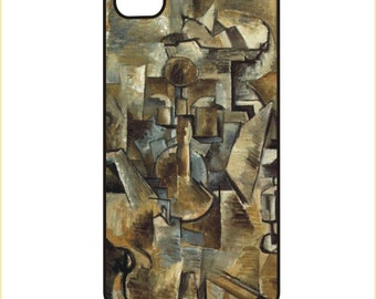 Braque - Violin and Candlestick iPhone / Android Phone Case / Cover - iPhone 4 / 4s, 5 / 5s, 6 / 6 Plus, Samsung Galaxy s4, s5