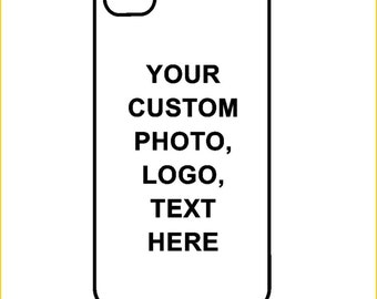 Custom iPhone / Android Case / Cover - Use your own picture, logo or text,  iPhone 4 / 4s, 5 / 5s, 6 / 6 Plus, 7 / 7,  Samsung Galaxy s4, s5