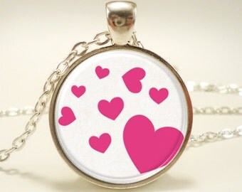 Love Heart Necklace, Cute Kawaii Jewelry, Gifts For Her (1256S1IN)