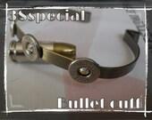 bullet bracelet /bullet cuff bracelet bullet recycled bracelet ,ammo bracelet ammo gear,tactical jewelry,tactical bacelet