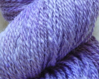 Hand dyed 2 Ply Lace weight Teeswater yarn