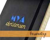 Personalized 2-line Journal or Notebook: Moleskine