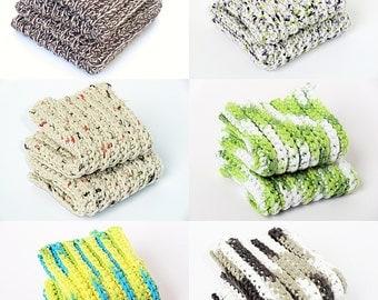 CUSTOM Crochet Cloths Sets for Kitchen or Bath