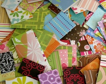 mini gift or enclosure cards assortment upcycled 24 pack