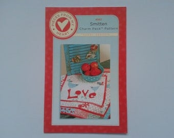 Smitten Quilt Pattern by Pieces of Heart (Sandy Gervais)