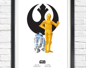 Star Wars - Solo Series - R2D2 AND C3PO - 19x13 Poster