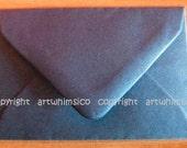 RESERVED CUSTOM LISTING for Shirin - Navy envelopes, size C6 envelopes x 50