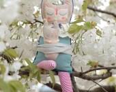 Elisa - Stuffed Fabric Doll
