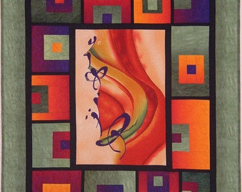 Block Me In Quilt Pattern Willow Brook Quilts DIY Quilting Sewing