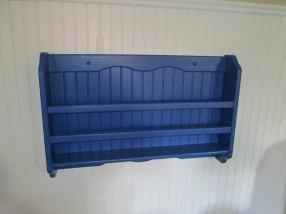 Items Similar To Wall Mounted Magazine And Book Rack