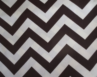 Outdoor Pillow Cover /  Brown Pillow Cover / Chevron Pillow Cover / Indoor Pillow Cover / Zig Zag Print