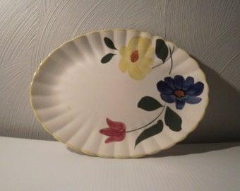 Blue Ridge Pottery platter