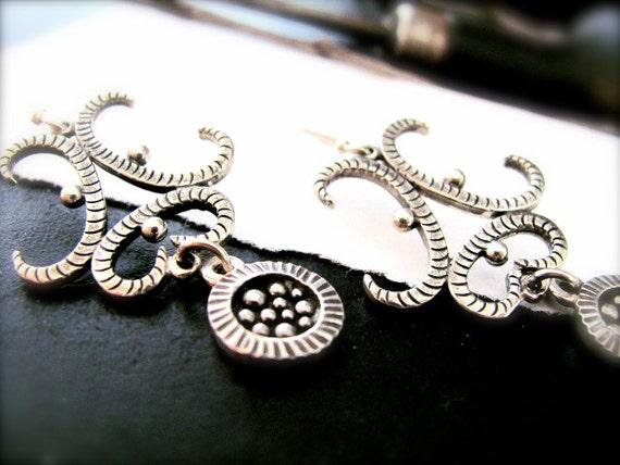 Divine Origins - Sterling Silver Earrings