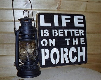 Porch Sign, Porch Decor, Life Is Better On The Porch, Porch Rules, Porch Wall Decor, Deck Decor, Outdoor Porch Signs, Wood Signs
