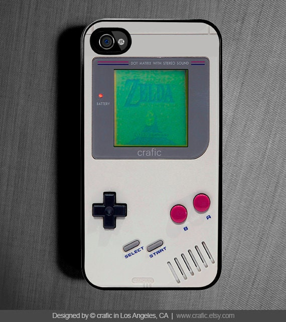 Retro Gameboy iPhone 6S Case, Classic Gameboy iPhone 7 case, Zelda, Old School iPhone 5S Case, 90's iPhone 5C Case