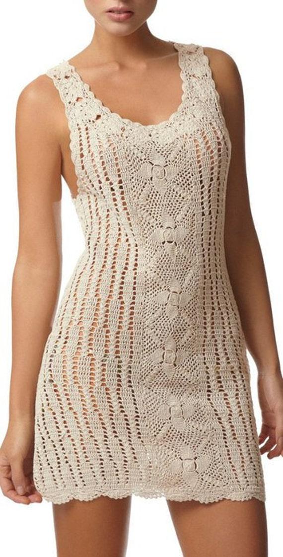 Crochet women summer dress by AsDidy on Etsy